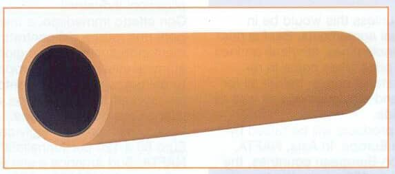 Tubo goma esponja Manicotto